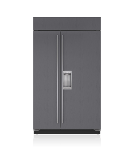 "Sub-Zero 48"" Classic Side-by-Side Refrigerator/Freezer with Dispenser - Panel Ready"