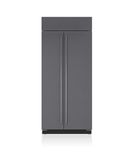 "Sub-Zero 36"" Classic Side-by-Side Refrigerator/Freezer - Panel Ready"