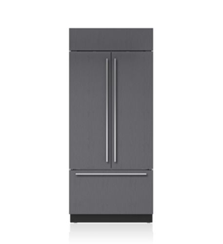 "Sub-Zero 36"" Classic French Door Refrigerator/Freezer with Internal Dispenser - Panel Ready"