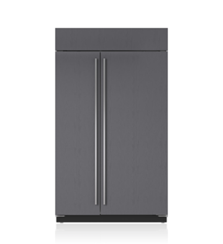 "Sub-Zero 48"" Classic Side-by-Side Refrigerator/Freezer with Internal Dispenser - Panel Ready"