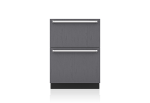 "Sub-Zero 24"" Designer Refrigerator Drawers - Panel Ready"
