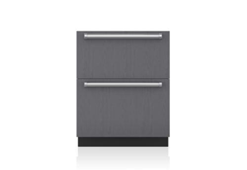 "Sub-Zero 27"" Designer Refrigerator Drawers - Panel Ready"