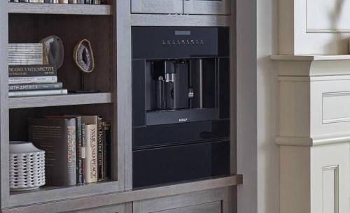 "Model: EC24/B | Wolf 24"" Coffee System - Black Glass"