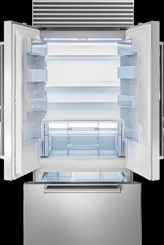 "Model: BI-36UFDID/S/PH | Sub-Zero 36"" Classic French Door Refrigerator/Freezer with Internal Dispenser"