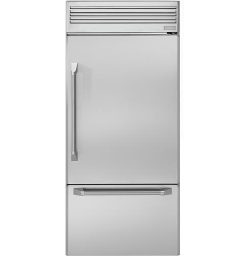 "Monogram Monogram 36"" Professional Built-In Bottom-Freezer Refrigerator"
