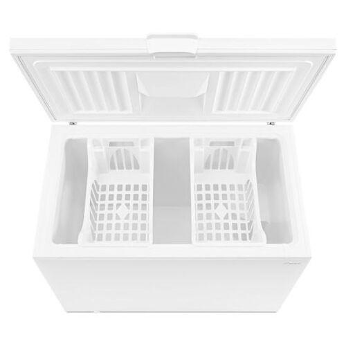 Model: AZC31T15DW | Amana 15 Cu. Ft. Chest Freezer with 2 Baskets