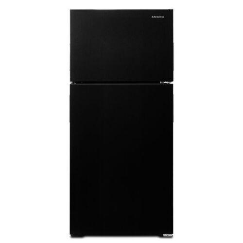 Model: ART104TFDB   Amana 28-inch Top-Freezer Refrigerator with Dairy Bin