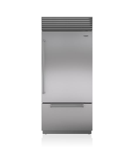 "Sub-Zero 36"" Classic Over-and-Under Refrigerator/Freezer"
