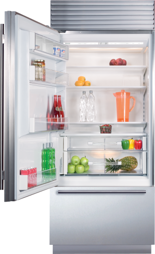 "Model: BI-30U/O-LH | Sub-Zero 30"" Classic Over-and-Under Refrigerator/Freezer - Panel Ready"