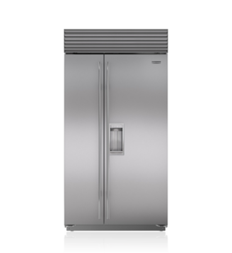 "Sub-Zero 42"" Classic Side-by-Side Refrigerator/Freezer with Dispenser"