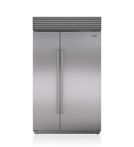 "Sub-Zero 48"" Classic Side-by-Side Refrigerator/Freezer with Internal Dispenser"