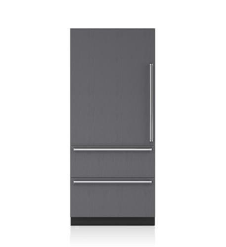 "Sub-Zero 36"" Designer Over-and-Under Refrigerator - Panel Ready"