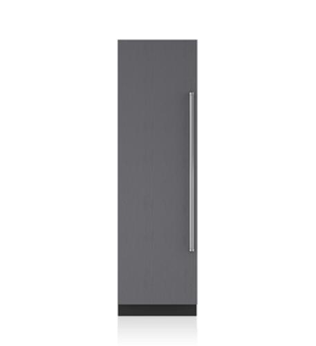 "Sub-Zero 24"" Designer Column Freezer with Ice Maker - Panel Ready"