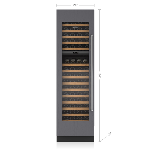 "Sub-Zero 24"" Designer Wine Storage - Panel Ready"