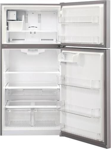 Model: LTCS24223S   LG 24 cu. ft. Top Mount Refrigerator