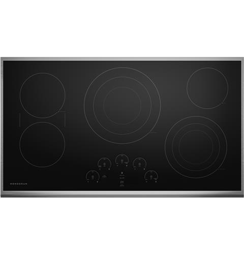 "Monogram Monogram 36"" Touch Control Electric Cooktop"