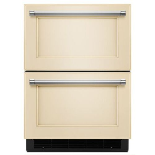"KitchenAid 24"" Panel Ready Double Refrigerator Drawer"