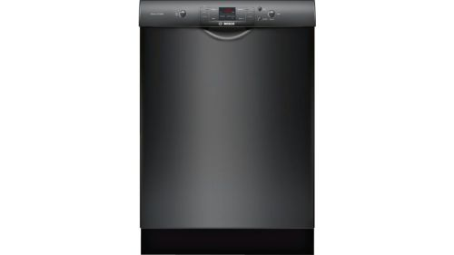 "Bosch 24"" Recessed Handle Dishwasher300 Series- Black"