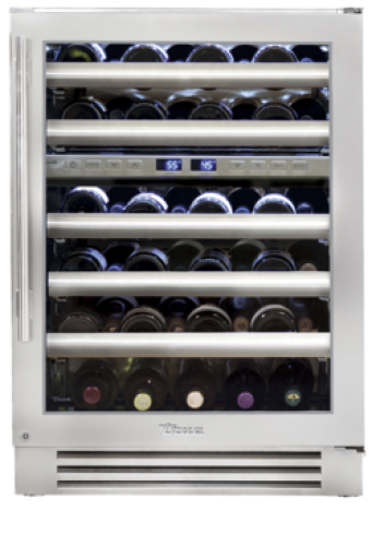 True  24 Inch Dual-Zone Wine Cabinet