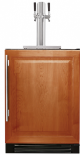 True  24 Inch Dual-Tap Beverage Dispenser