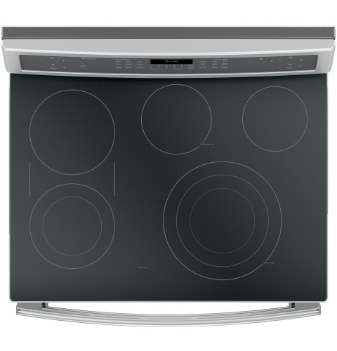 "Model: PB960SJSS | GE Profile GE Profile Series 30"" Free-Standing Electric Double Oven Convection Range"