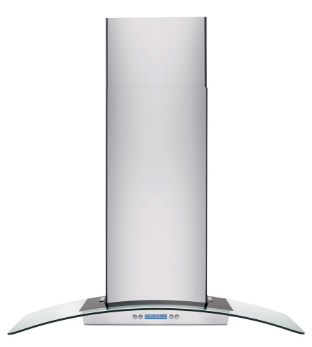 "Electrolux ICON 36"" Glass and Stainless Canopy Wall-Mount Hood"