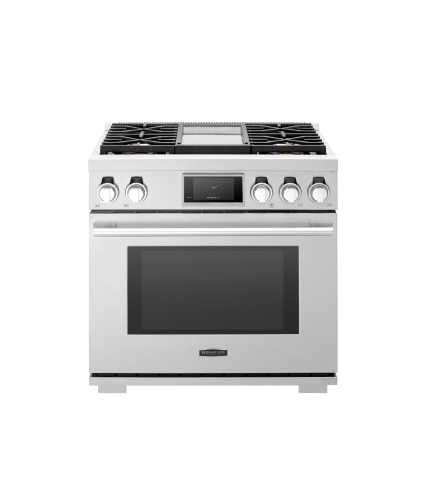 Signature Kitchen Suite by LG  36-inch Gas Pro Range with Griddle