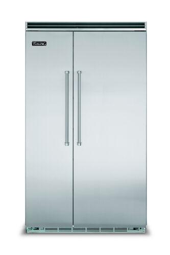 "Model: VCSB5483SS | Viking 48""W. BI Side-by-Side Refrigerator/Freezer-Stainless"