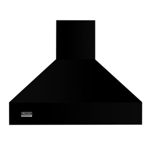 "Viking 66""W/18""H CHIMNEY ISLAND HOOD- BK"