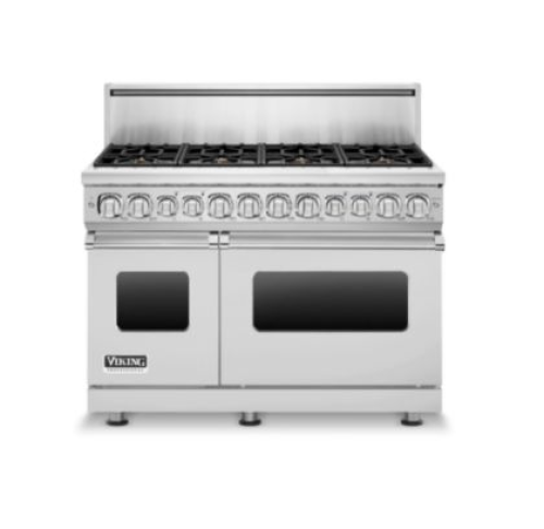 "Viking 48"" 7-SERIES DUAL FUEL GAS RANGE- SS"