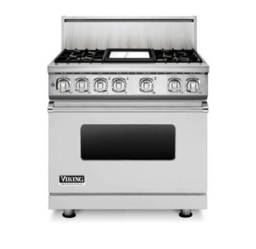"Viking 36"" 7-SERIES DUAL FUEL RANGE 4G- SS"
