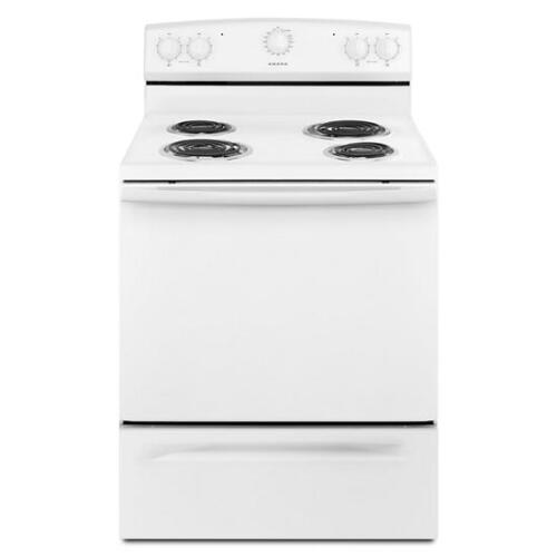 Amana 30-inch Electric Range with Warm Hold