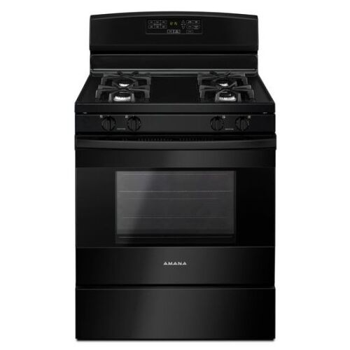 Amana 30-inch Gas Range with Self-Clean Option