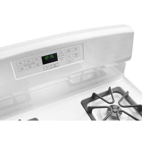 Model: AGR6603SFW   Amana 30-inch Gas Range with Self-Clean Option