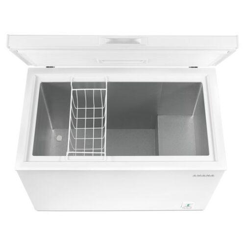 Model: AQC0701GRW | Amana 7.0 Cu. Ft. Compact Freezer with 1 Basket