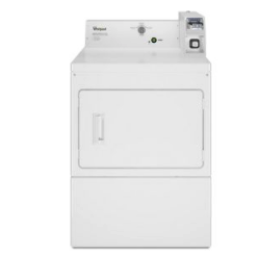 Whirlpool Commercial Gas Super-Capacity Dryer, Coin-Slide and Coin-Box