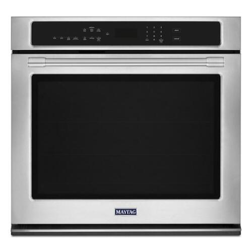 Model: MEW9530FZ | Maytag 30-Inch Wide Single Wall Oven with True Convection - 5.0 cu. ft.