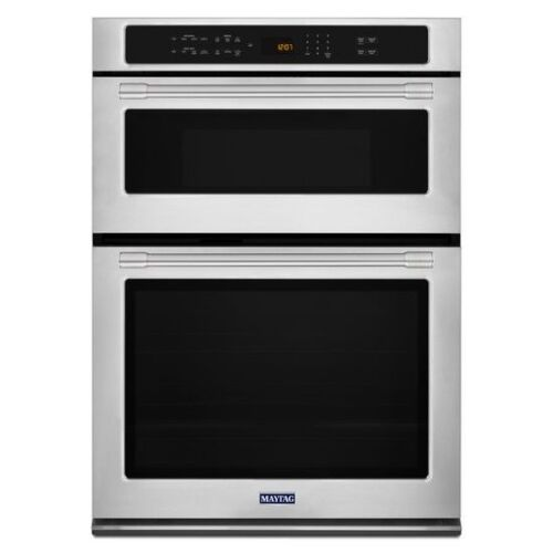 Maytag 30-INCH WIDE COMBINATION WALL OVEN WITH TRUE CONVECTION - 6.4 CU. FT.