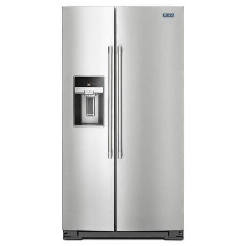 Maytag 36- Inch Wide Counter Depth Side-by-Side Refrigerator- 21 Cu. Ft.