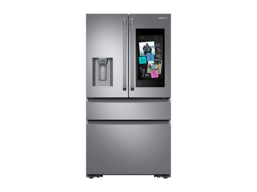 Samsung 22 cu. ft. Capacity Counter Depth 4-Door French Door Refrigerator with Family Hub