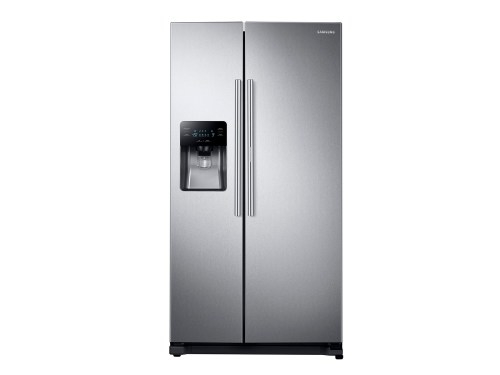 Samsung 24.7 cu. ft. Side-by-Side Food ShowCase Refrigerator with Metal Cooling