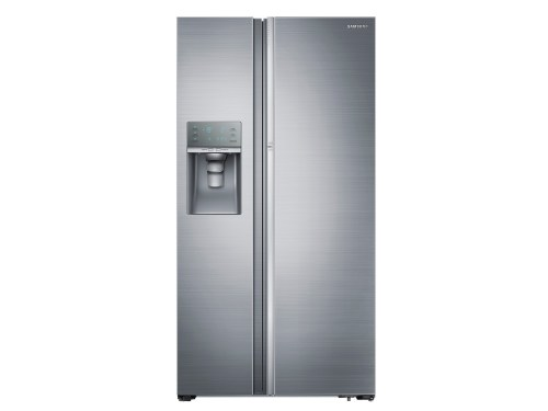 Samsung 22 cu. ft. Counter Depth Side-by-Side Food ShowCase Refrigerator with Metal Cooling
