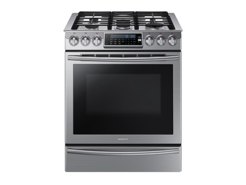 Samsung 5.8 cu. ft. Slide-In Gas Range with True Convection