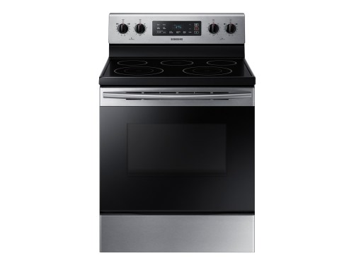 Samsung 5.9 cu. ft. Freestanding Electric Range with Two Dual Power Elements