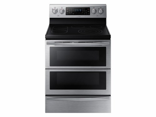 5.9 cu. ft. Electric Flex Duo™ Range with Soft Close and Dual Door™
