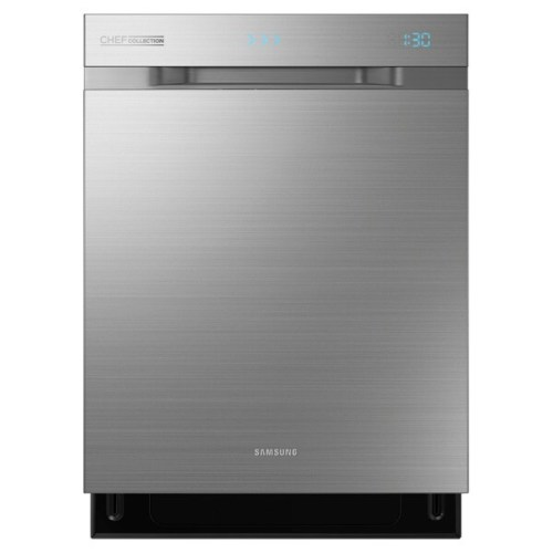 Model: DW80H9970US | Samsung Top Control Chef Collection Dishwasher with WaterWall™ Technology