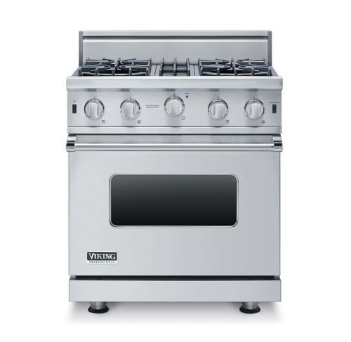 "Viking PRO 30"" OPEN BURNER GAS RANGE 4B- SSLP"