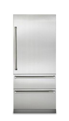 "Viking 36""W. 7 Series Bottom Freezer - Stainless"
