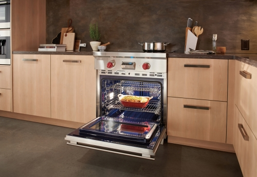 "Model: IR304TE/S/TH | Wolf 30"" Transitional Induction Range"