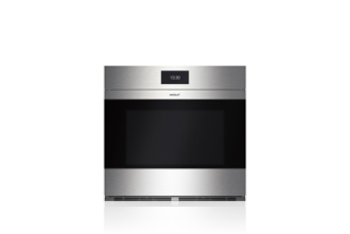 "Wolf 30"" M Series Contemporary Stainless Steel Built-In Single Oven"